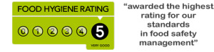 food hygiene rating 5 star
